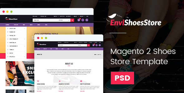 Magento2 Shoes Store Template - Shopping Retail TFx Dacre Lutfi