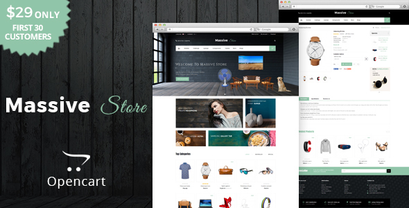 Massive – Multipurpose OpenCart Theme – Technology OpenCart TFx Layton Rodger