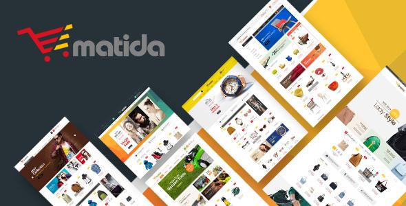 Matida - Multipurpose Responsive Magento Theme TFx Temujin Knox