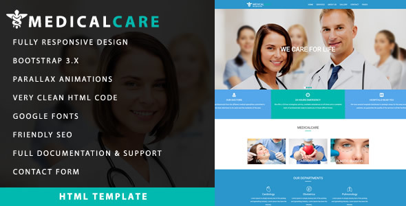 Medical Care - Responsive Health & Medical Template - Health & Beauty Retail TFx Aydan Alphonso