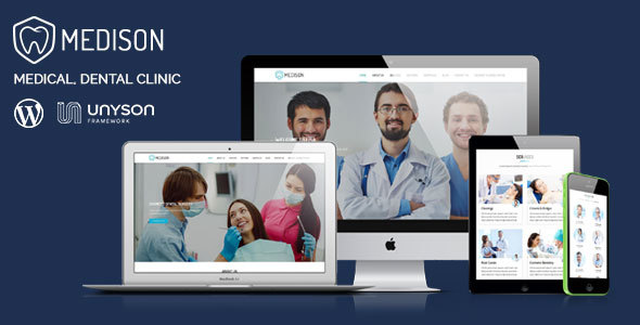 Medison - Medical, Dental Clinic WordPress Theme - Health & Beauty Retail TFx Nuka Reuben