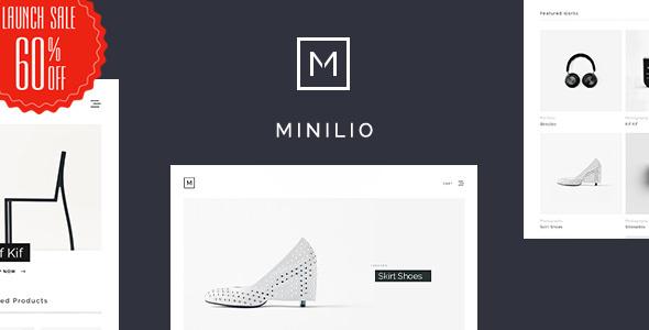 Minilio - Minimalist Multi-Purpose WordPress Theme - Portfolio Creative TFx Dom Lemoine