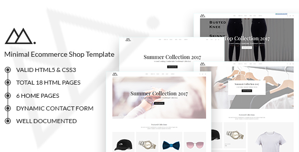 Mira - Minimalist eCommerce Template - Shopping Retail TFx Garey Isaiah