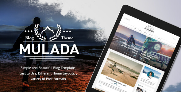 Mulada – Ghost Theme for Bloggers (GloriaThemes) – Ghost Themes Blogging TFx Kelsey Faramond
