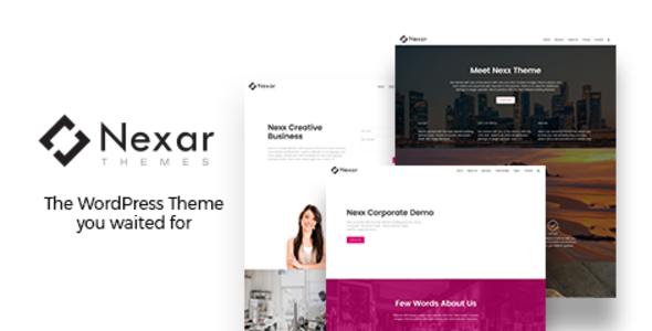 Nexx - Multi Purpose Business WordPress Theme TFx Brenton Stew