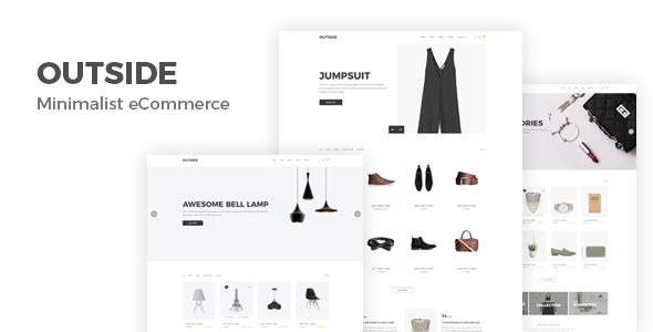 Outside - Minimal Shopping HTML5 Template - Shopping Retail TFx Newt Rowland