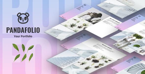 Pandafolio - Modern and Clean Portfolio WordPress Theme + RTL - Portfolio Creative TFx Kade Devyn