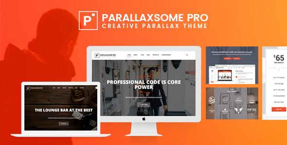 ParallaxSome Pro - Multipurpose WordPress Theme - Creative WordPress TFx Gaylord Kevyn