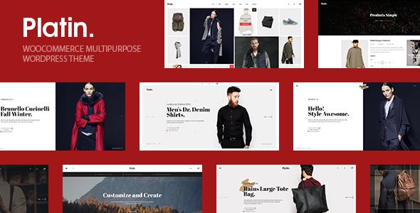 Platin WooCommerce Multipurpose WordPress Theme - WooCommerce eCommerce TFx Levi Ira