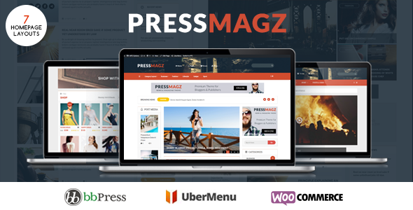 PresssMagz - Editorial News & Magazine WordPress Theme - News / Editorial Blog / Magazine TFx Mel Marlon