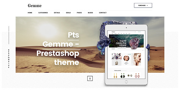 Pts Gemme – Fashion PrestaShop TFx PrestaShop Deforest Darien