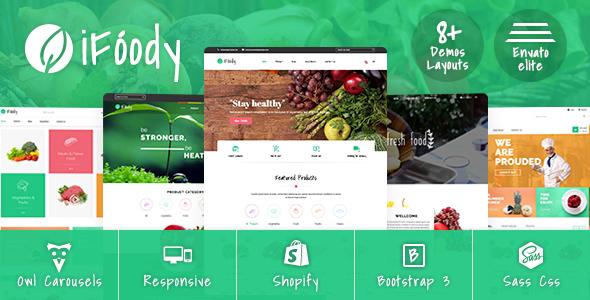 SP iFoody - Responsive Organic Food Shopify Theme TFx Schuyler Dana