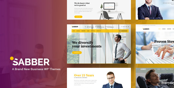 Sabber - Highly Customizable Financial & Business WordPress Themes - Business Corporate TFx Miles Garrett