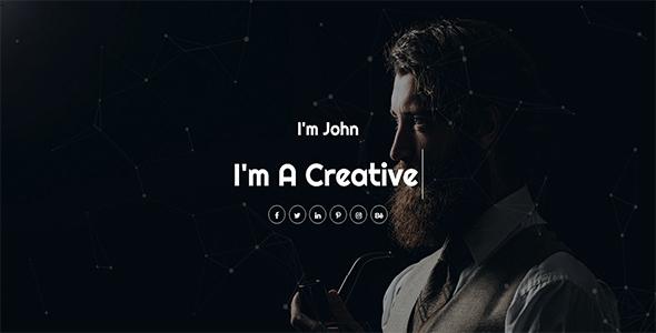 Se7en - Personal Portfolio HTML Template - Creative Site Templates TFx Kyo Joyce