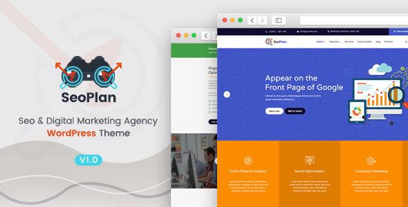 SeoPlan & Digital Marketing Agency WordPress Theme - Marketing Corporate TFx Flavian Frank