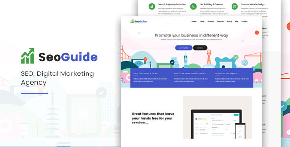 Seoguide-Digital Marketing Agency – Technology Site Templates TFx Katsuro Elias