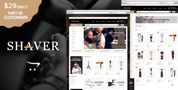 Shaver - Multipurpose OpenCart Theme - Health & Beauty OpenCart TFx Barnabas Domenic