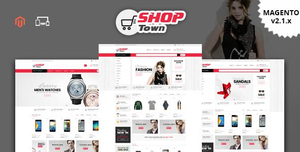 Shop Town - Responsive Magento 2 Theme - Shopping Magento TFx Vahagn Collin