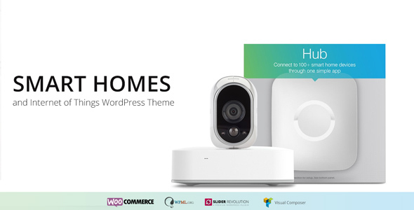 Smart Home - Internet of Things & Home Automation WordPress Theme - Technology WordPress TFx Amery Skyler