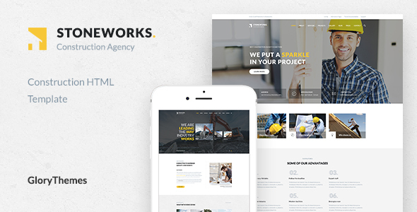 Stoneworks - A Professional HTML Template for Construction, Architect & Building Business - Business Corporate TFx Tiriaq Dwayne