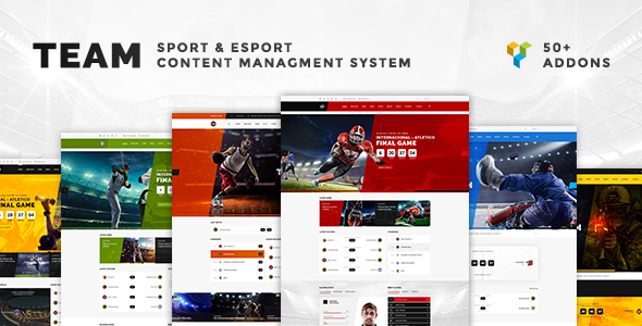Team - Multisport & eSport WordPress Theme TFx Sri Sargon