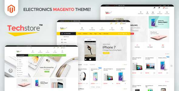 Techstore - Responsive Magento 2 Theme - Magento eCommerce TFx Rokurou Nuka