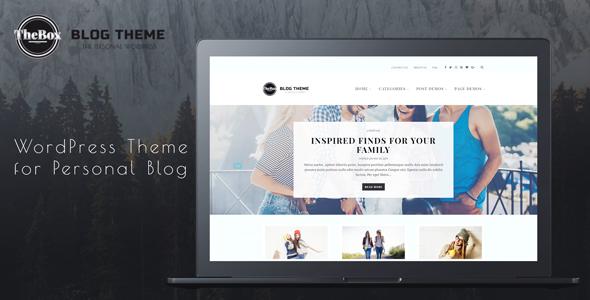 TheBox - WordPress Theme for Personal Blog - Personal Blog / Magazine TFx Kyo Delano