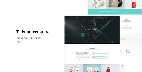 Thomas – Personal Portfolio – Portfolio Creative TFx Clayton Sinjin
