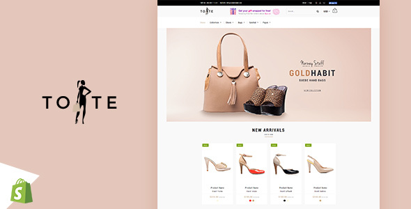Tote | Shoes and Bags Shopify theme - Fashion Shopify TFx Oswald York