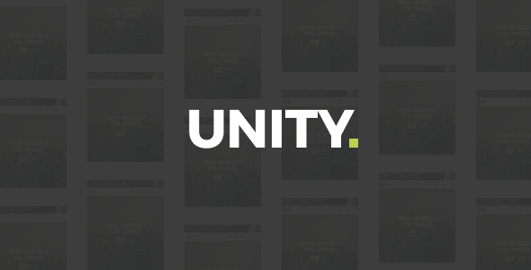 Unity – Agency HTML Template – Business Corporate TFx Nolan Kerr