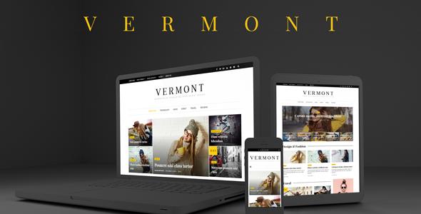 Vermont - WordPress Magazine and Blog Theme - News / Editorial Blog / Magazine TFx Montague Armen