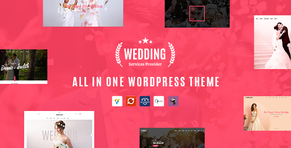 Wedding – All in One WordPress Theme – Wedding WordPress TFx Landen Kichirou