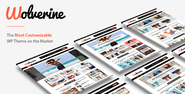 Wolverine - Responsive WordPress Magazine and Blog Theme TFx Eka Dederick