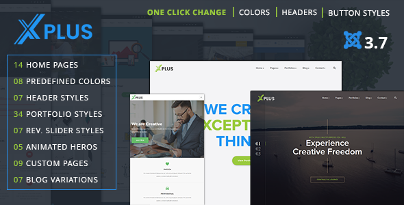 xPlus - Responsive Multipurpose Business Joomla Theme - Business Corporate TFx Selwyn Jefferson