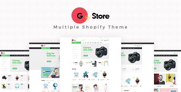Ap Gstore Shopify Theme - Miscellaneous Shopify TFx Katsuro Gaylord