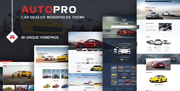 AutoPro - Car Dealer WordPress Theme - Business Corporate TFx Cleve Hamnet