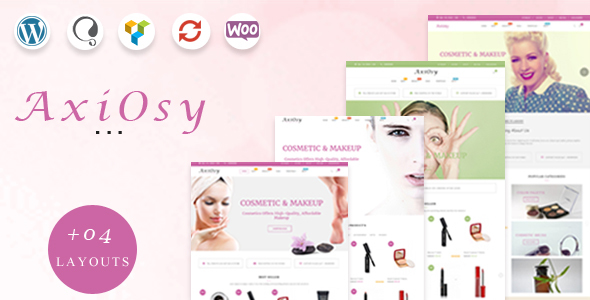 AxiOsy - Makeup & Beauty WooCommerce Theme - WooCommerce eCommerce TFx Shota Dutch