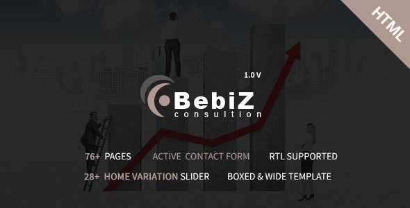 BebiZ – Business and Consulting Responsive HTML5 Template – Business Corporate TFx Kisecawchuck Garrick