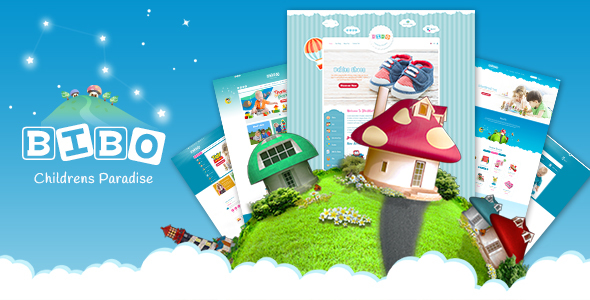BiBo - Baby & Kids Store eCommerce PSD Template - Children Retail TFx Cajetan Merrill