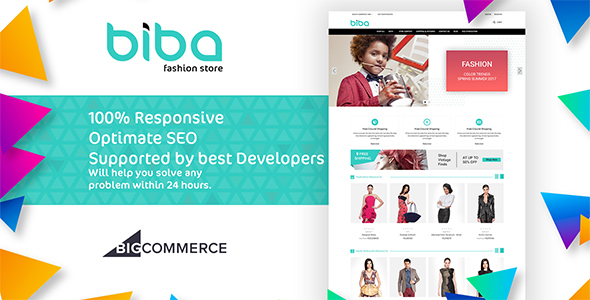 Biba Multipurpose Stencil Bigcommerce Theme - BigCommerce eCommerce TFx Dirk Chester