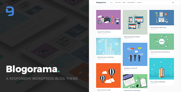 Blogorama - A Responsive WordPress Blog Theme - Personal Blog / Magazine TFx Swithun Abdul