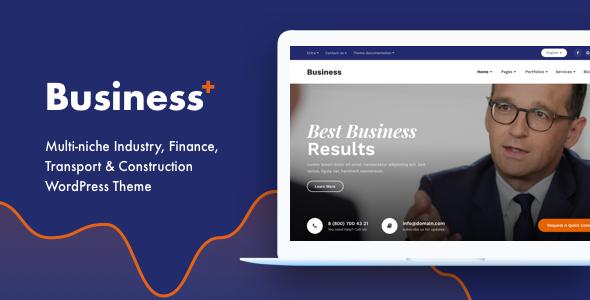 Business Plus – Multi-Concept Responsive WordPress Theme - Business Corporate TFx Creighton Goddard