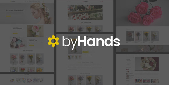 ByHands - Flower Store Virtuemart Template - Shopping Retail TFx Valentine Hiroki