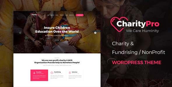Charity Pro - Charity/Fundraising WordPress Theme - Charity Nonprofit TFx Baxter Kadek
