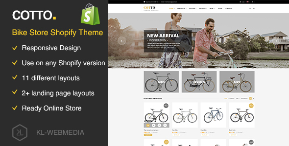Cotto - Bike Store Shopify Theme - Shopping Shopify TFx Elijah Richard