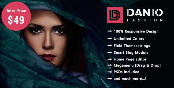 Danio - Fashion Responsive Prestashop 1.7 Theme - Fashion PrestaShop TFx Selby Cale