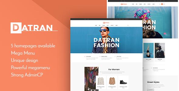 Datran - Responsive Multiple Prestashop Theme - Fashion PrestaShop TFx Dixon Quinlan