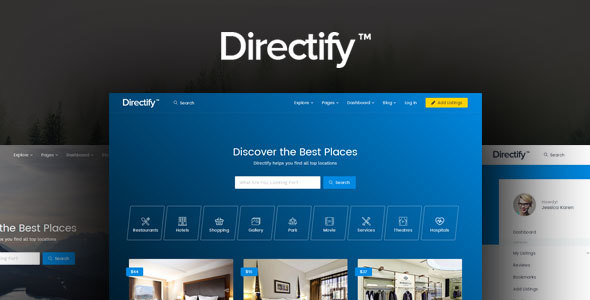 Directify | Directory, Listings and Business HTML Template - Business Corporate TFx Ken Sigmund