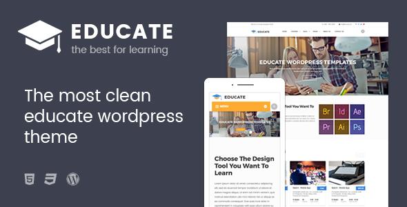 Educate - Education WordPress Theme - Education WordPress TFx Conrad Darnell