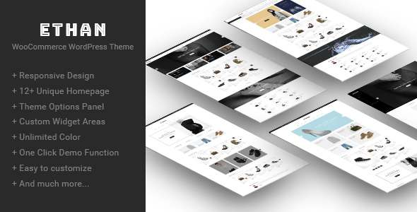 Ethan - Responsive WooCommerce WordPress Theme - WooCommerce eCommerce TFx Korbin August